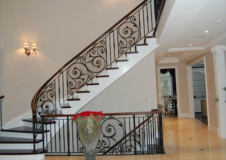 a 1 railings Slide_custom railings
